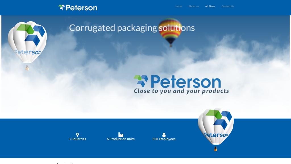 Hjemmeside design for VPK